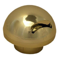 Gold finial for 50mm pole