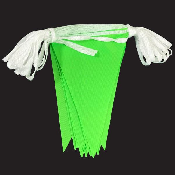 Green Hi-Vis Fabric Bunting