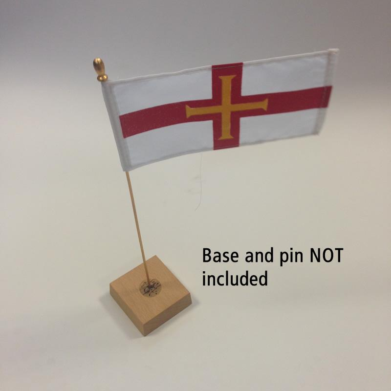 Guernsey Table Flag