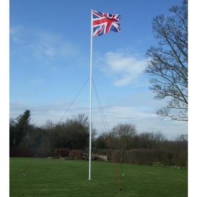 3.6m Guyed Flagpole