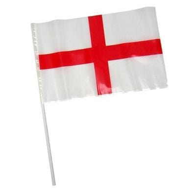 HAND WAVING Polythene St. George Flags