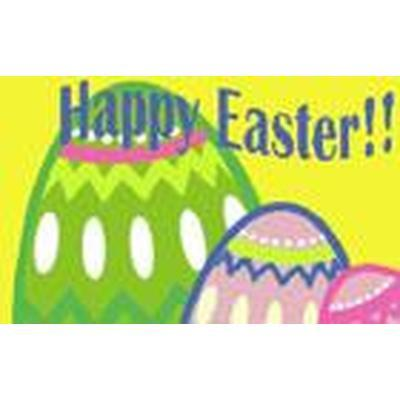 Happy Easter Flag - 5ft x 3ft