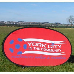 Horizontal pop out banner - 1.38 m x 0.7 m