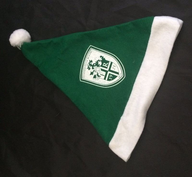 Personalised Green Santa Hat