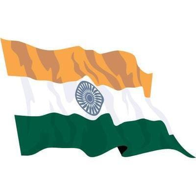 India 1.52m x 0.91m (5ftx 3ft) Budget Display Flag