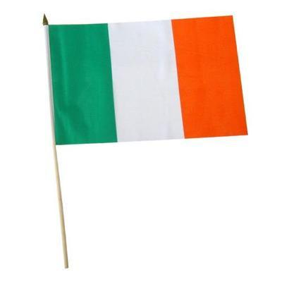 Ireland Fabric Hand Waving Flags