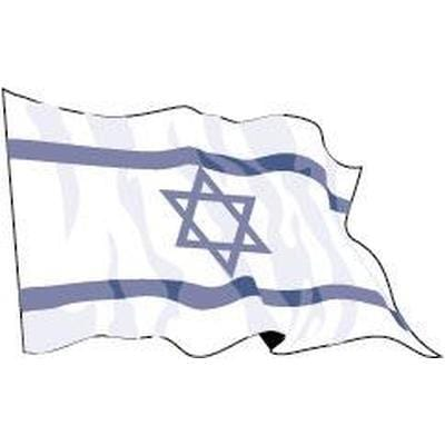 Israel 1.52m x 0.91m (5ftx 3ft) Budget Display Flag