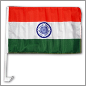 India car flag (Pack of 12)