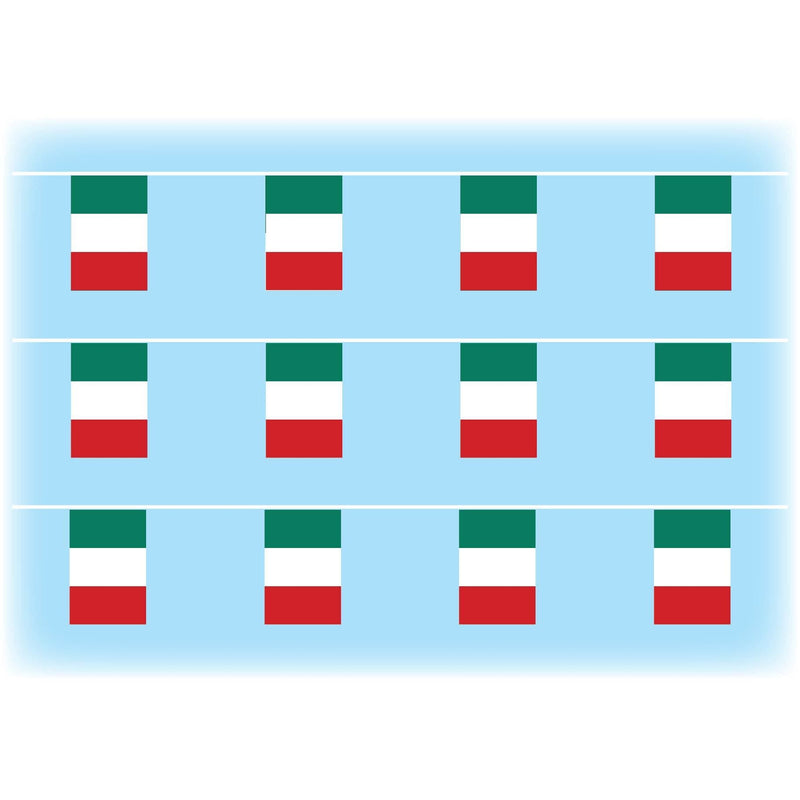 Italy Flag Synthetic Bunting