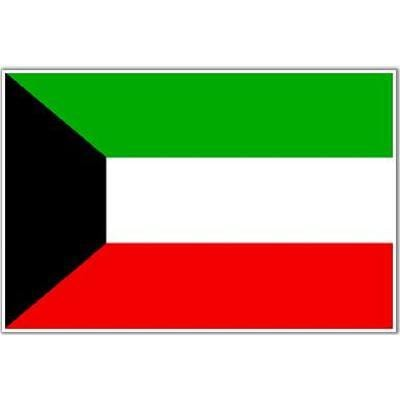 Kuwait 1.52m x 0.91m (5ftx 3ft) Budget Display Flag