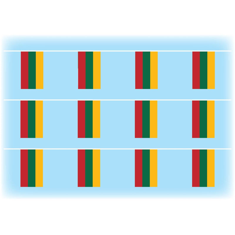 Lithuania Flag Bunting