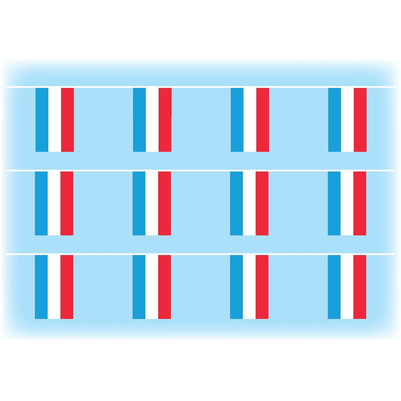 Lucembourg Flag Bunting