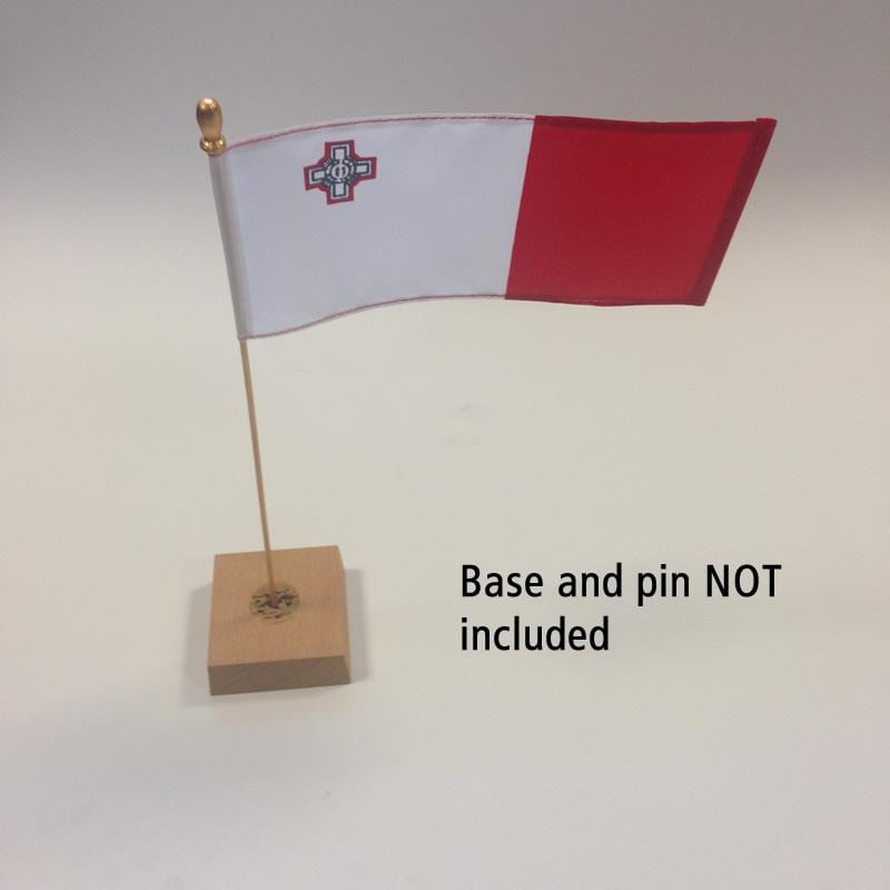 Malta Table Flag