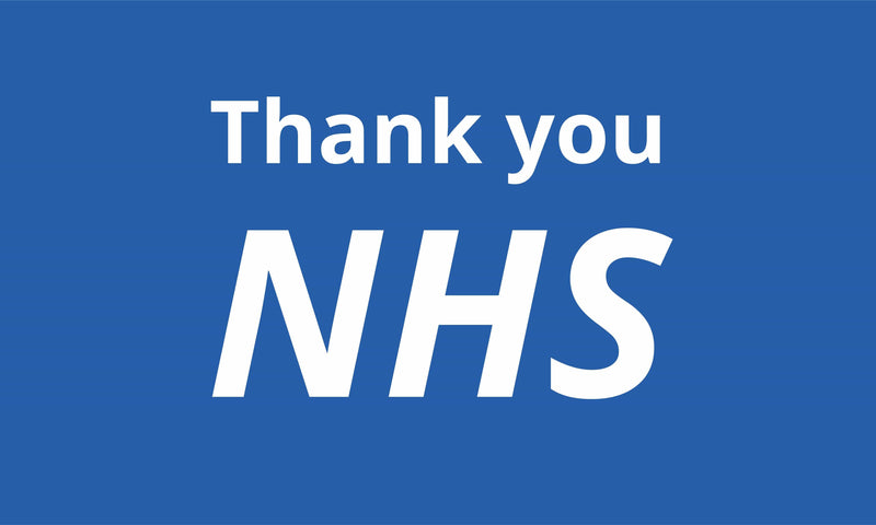 Thank you NHS Charity Flag