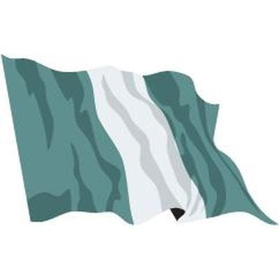 Nigeria 1.52m x 0.91m (5ftx 3ft) Budget Display Flag