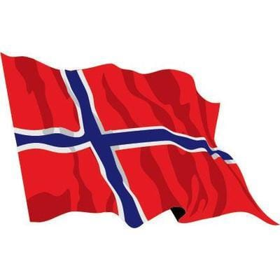 Norway 1.52m x 0.91m (5ftx 3ft) Budget Display Flag