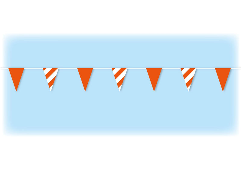 Orange Safety Bunting