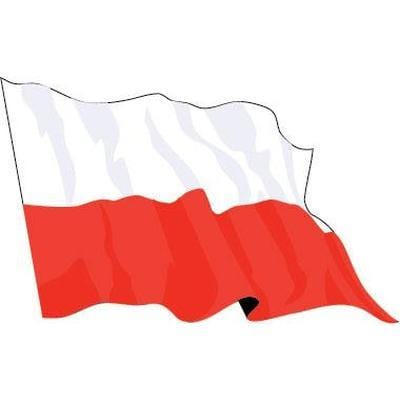 Poland Budget Display Flag 91cm x 60cm (3ft x 2ft)