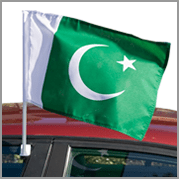 Pakistan car flag (Pack of 12)