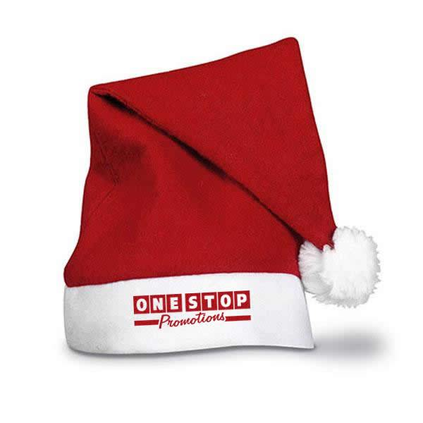 Personalised Red Santa Hat