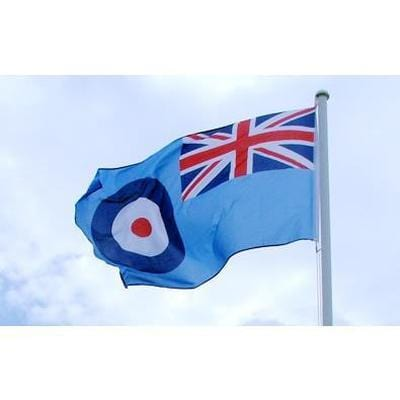 RAF Ensign 1.52m x 0.91m (5ftx 3ft) Budget Display Flag