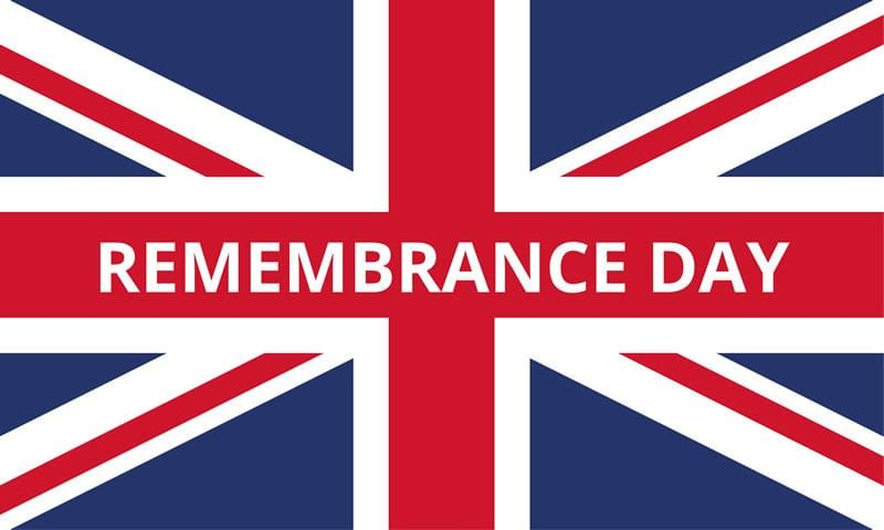 Union Remembrance Day Flag 1500 x 900mm (5ft x 3ft)