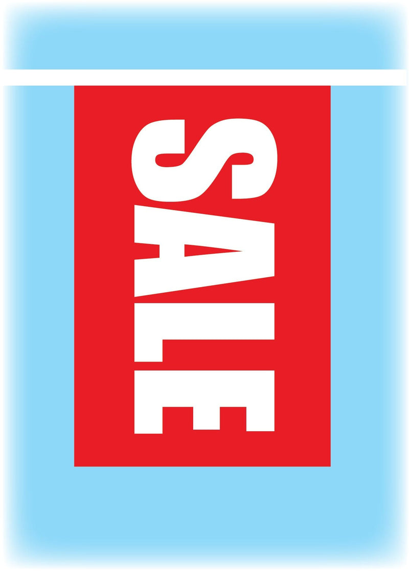 A5 Rectangular SALE Synthetic Bunting - Vertical