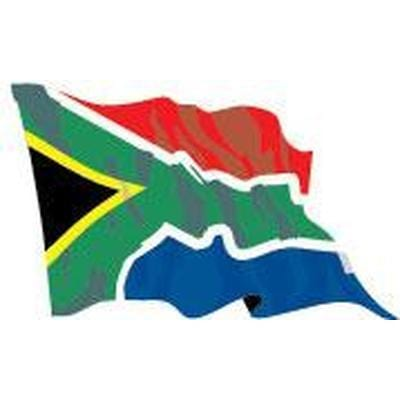 South Africa 8ft x 5ft Budget Display Flag