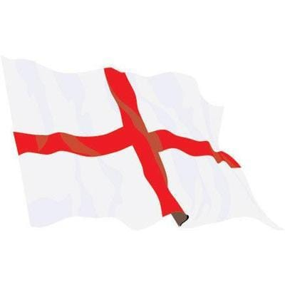 St George 8ft x 5ft Budget Display Flag