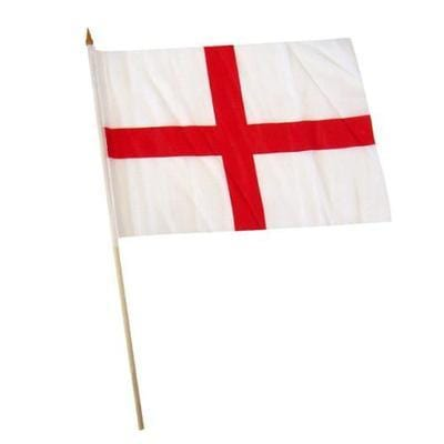 ST GEORGE Fabric Hand Waving Flags