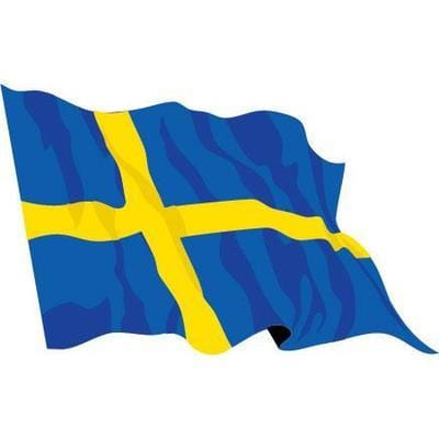Sweden 1.52m x 0.91m (5ftx 3ft) Budget Display Flag