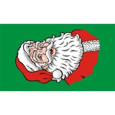 Santa Flag - 1.52m x 0.91m (5ftx 3ft) Budget Display Flag