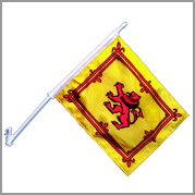 Scottish Lion Car Flag (Pack of 12)
