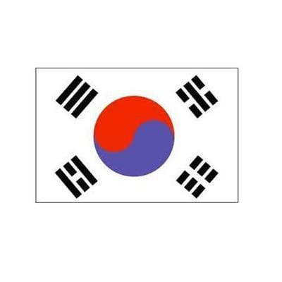 South Korea Fabric Bunting