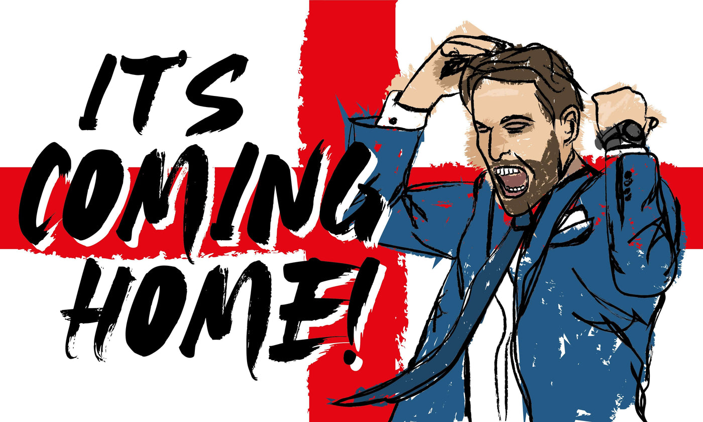 Its Coming Home Flag - Southgate Design – Flags and Flagpoles