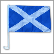 St Andrews/Scotland car flag (Pack of 12)