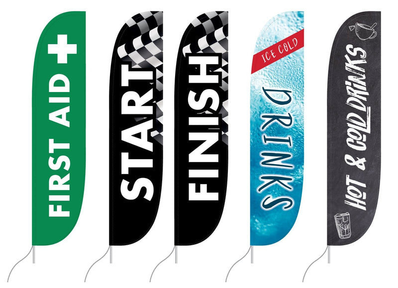Race Event Feather Flags