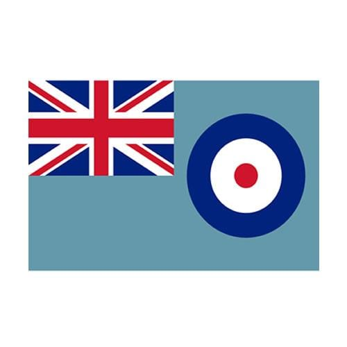 Blue RAF Ensign Table Flag