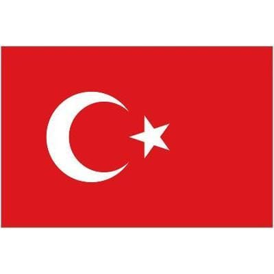 Turkey Table Flag