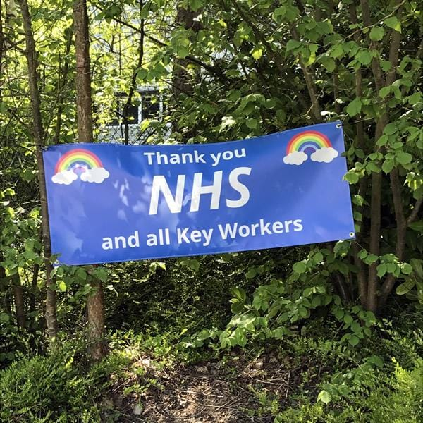 Thank you NHS Charity Banner