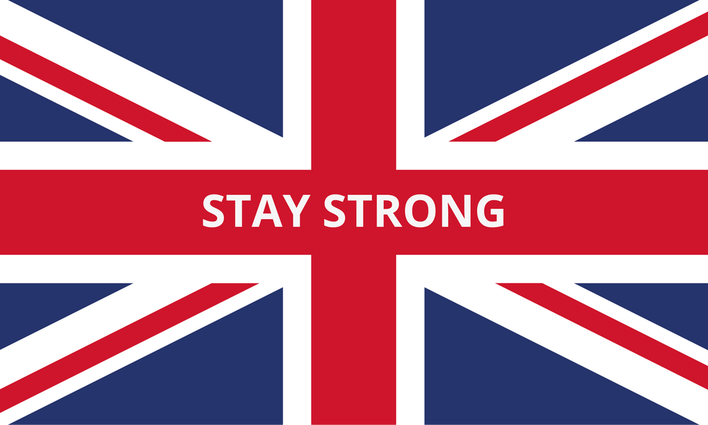 Stay Strong Union flag