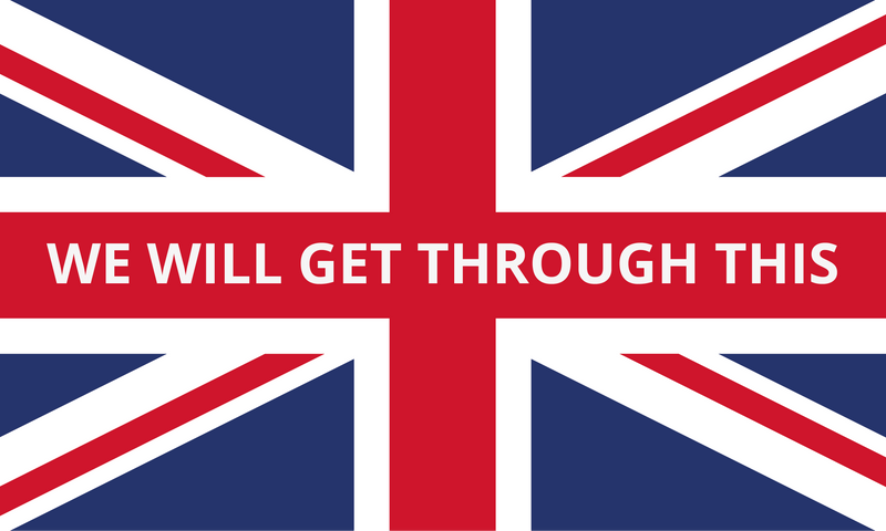 We will get through this Union flag