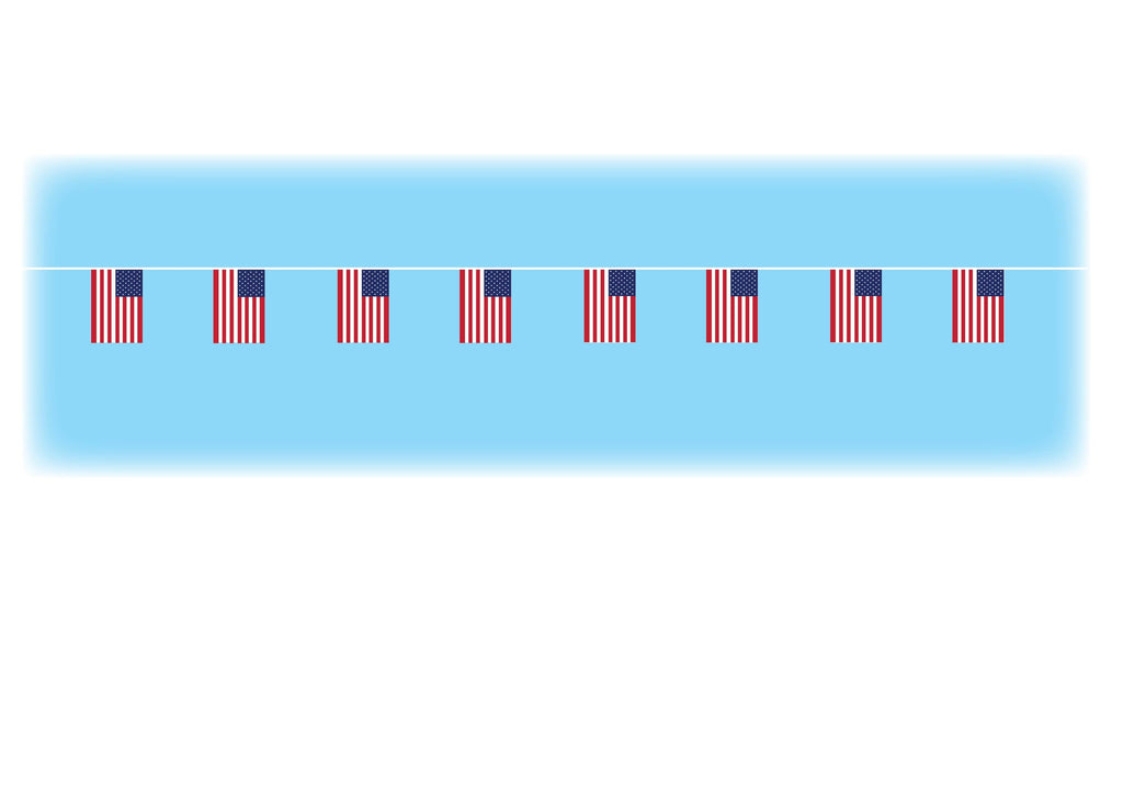 USA Synthetic Bunting - 10 metres