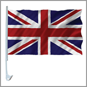 Union car flag (Pack of 12)