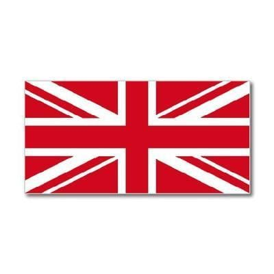 Pink & Red Union Jack flag