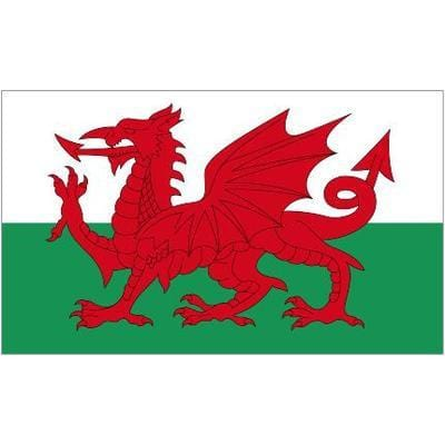 Wales Table Flag