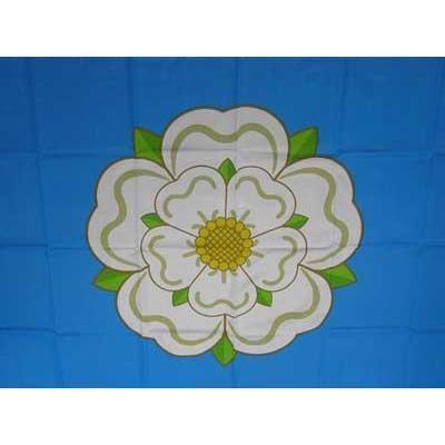 Yorkshire Rose 1.52m x 0.91m (5ftx 3ft) Budget Display Flag