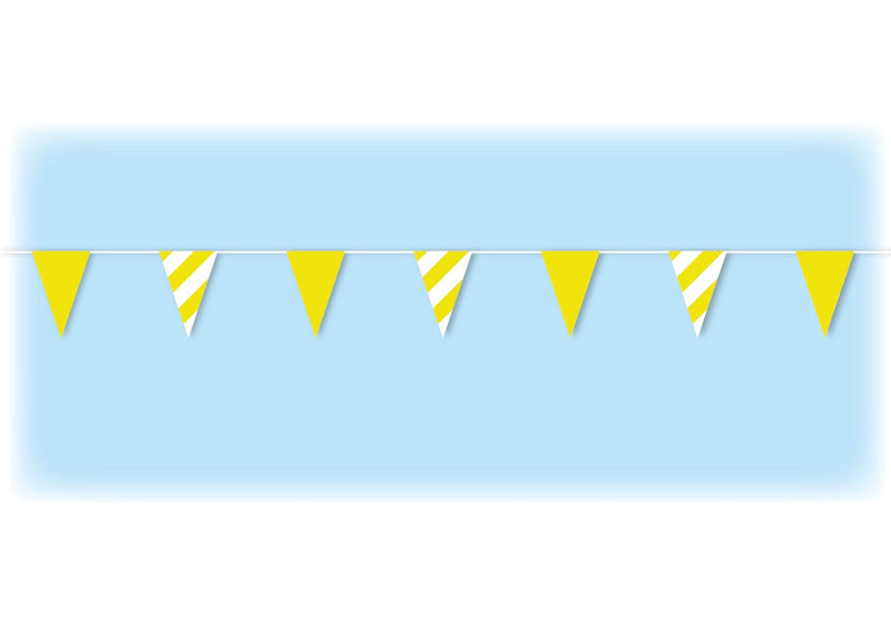Yellow Safety Bunting