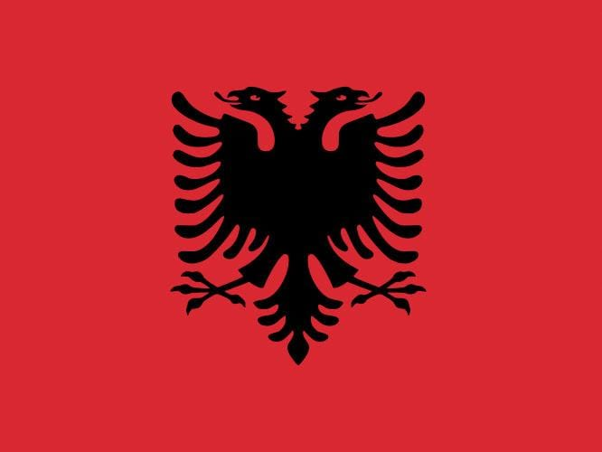 Albania Flags & Bunting