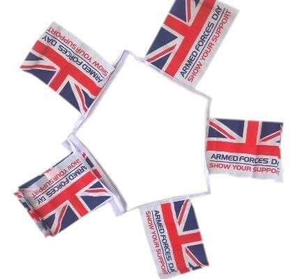 Armed Forces Day Fabric Bunting